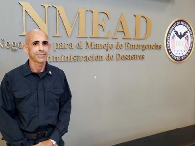 Asume Ángel Modesto Vázquez como el nuevo coordinador de Búsqueda y Rescate en el Nmead