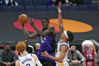 Warriors Raptors Basketball