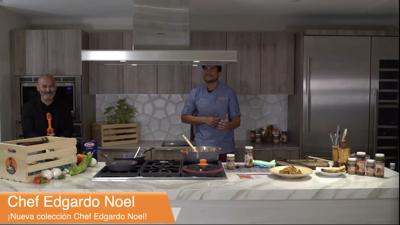 Chef Edgardo Noel presenta su nuevo proyecto empresarial