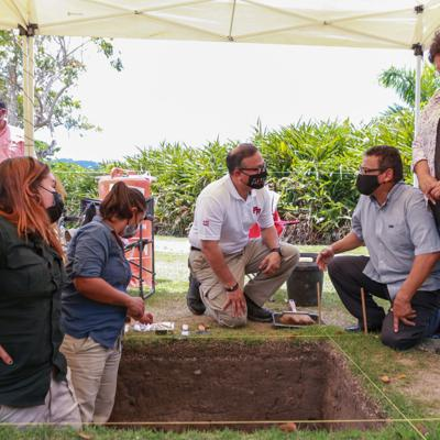 Revelan importantes hallazgos arqueológicos en Jardín Botánico de Caguas