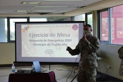 Trujillo Alto y Guardia Nacional realizan ejercicio de plan de emergencia