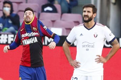 Messi recibe multa por su homenaje a Maradona