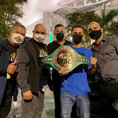 McWilliams Arroyo se convierte en campeón mundial