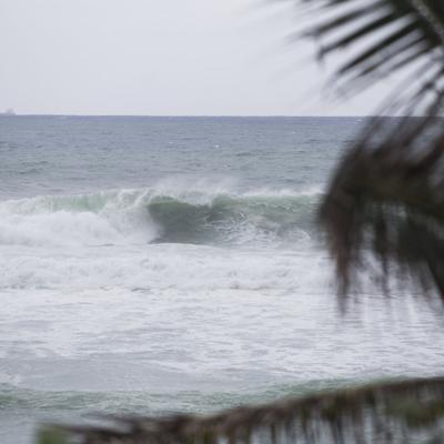 Peligrosas las condiciones marítimas por huracán Teddy