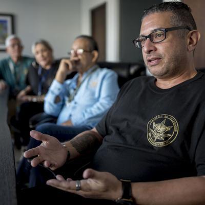 Veteranos combaten dolencias con cannabis medicinal