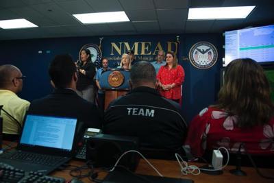 Gobernadora da detalles de temblores desde Manejo de Emergencias