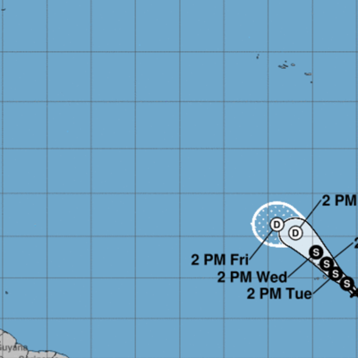 Se forma depresión tropical en el oriente del Atlántico