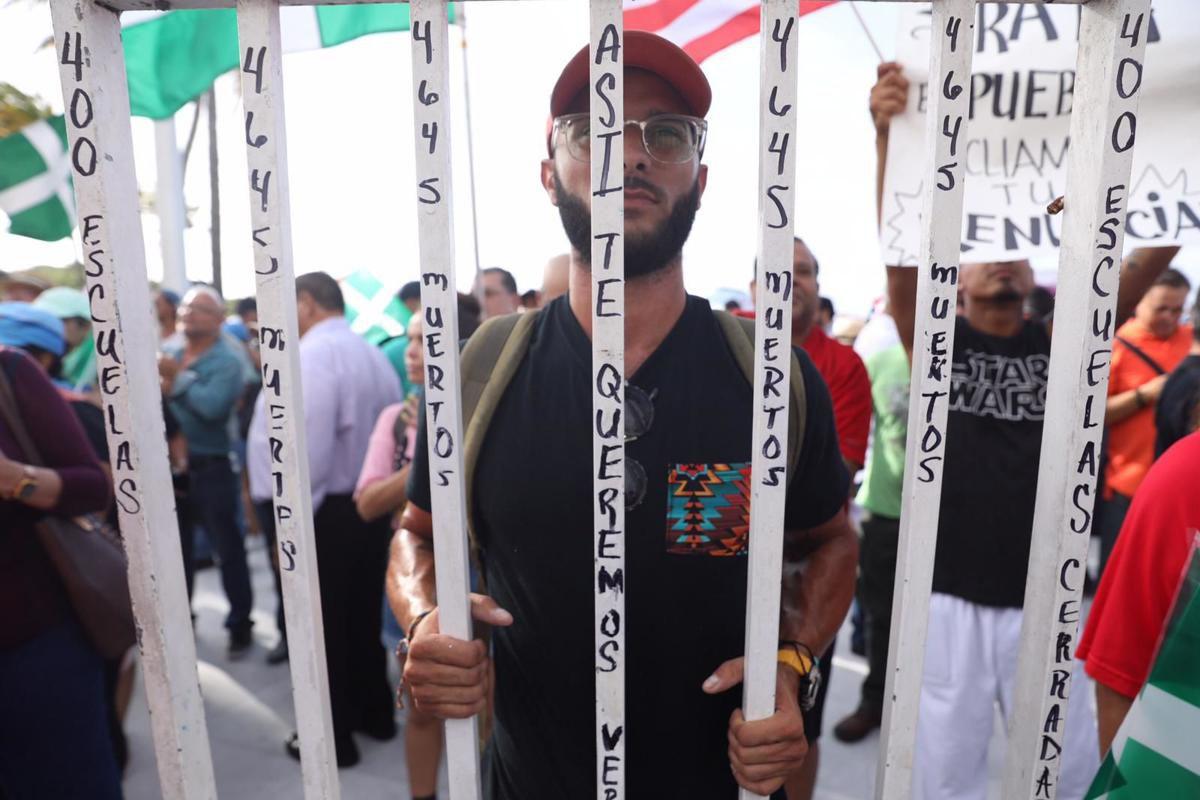Cuarto día de protestas en La Fortaleza