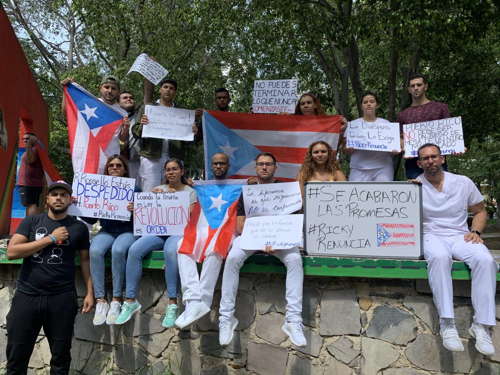 Estudiantes boricuas de medicina en México exigen renuncia de Rosselló