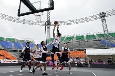 El básket 3x3, la versión olímpica del juego callejero