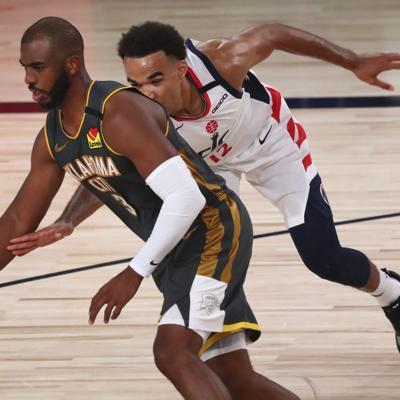 Thunder mantiene a los Wizards sin victorias en la burbuja