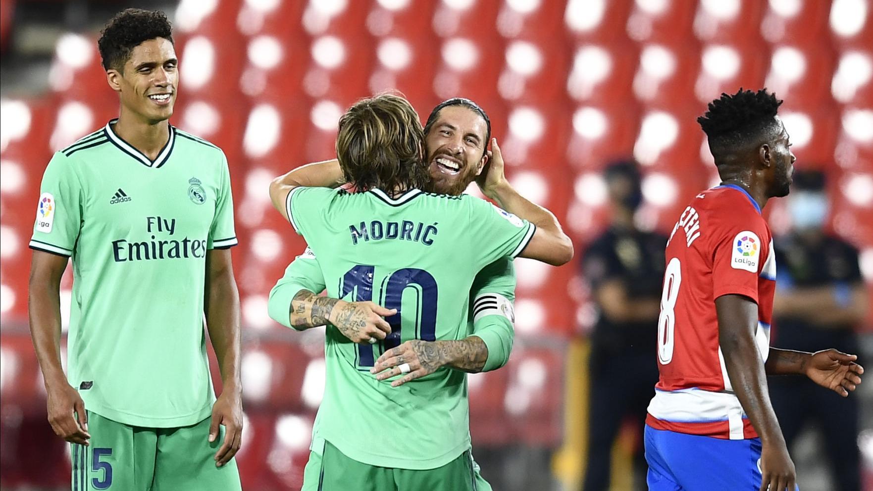 Real Madrid acaricia el título de la Liga de España