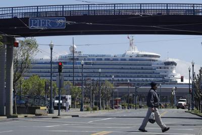 Virus Outbreak California Cruises
