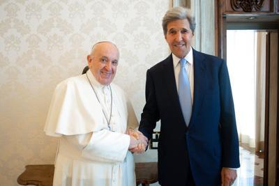 Vatican Pope Kerry