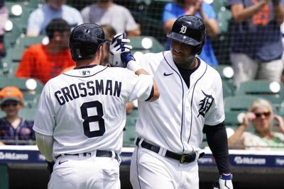 Los Tigres vencen a los Mellizos con un jonrón de Grossman