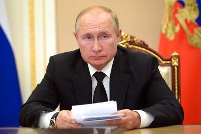 Vladimir Putin estará en cuarentena por casos de covid-19 en su equipo de trabajo