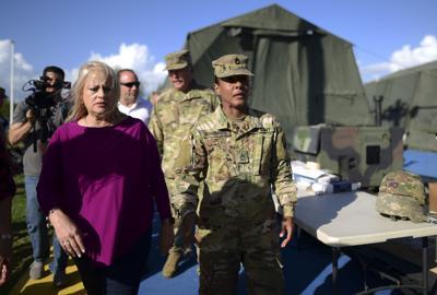 Complacida Vázquez con refugio militar en Guánica