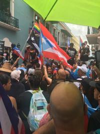 Marcha nacional llega a La Fortaleza