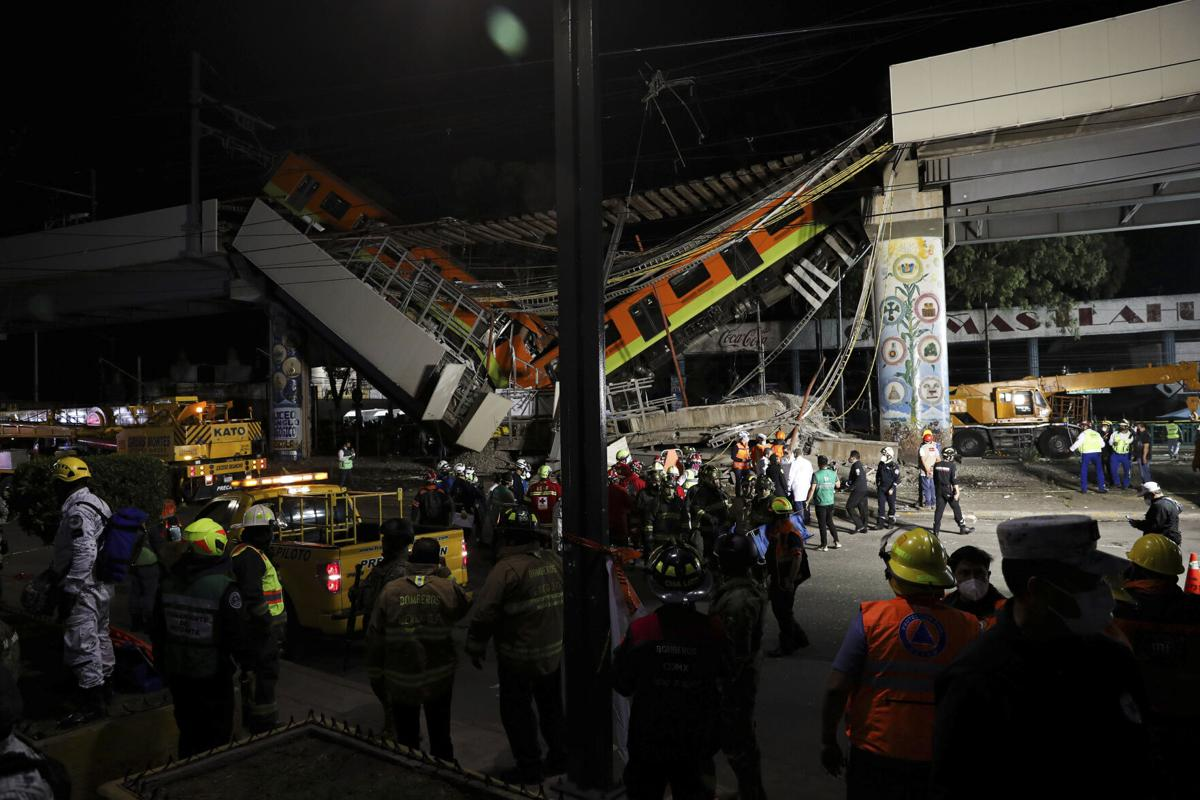 Mexico Metro Collapse