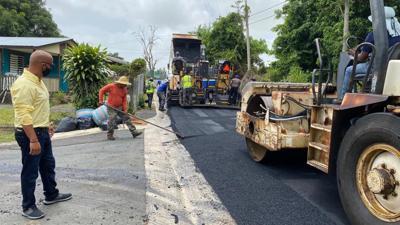 Trabajo de asfalto