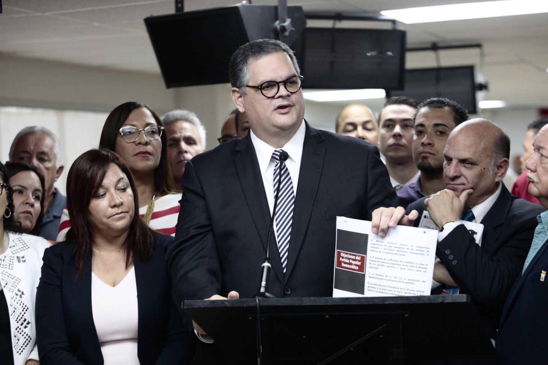 """""""Peligrosa"""" la reforma electoral propuesta por Rivera Schatz"""