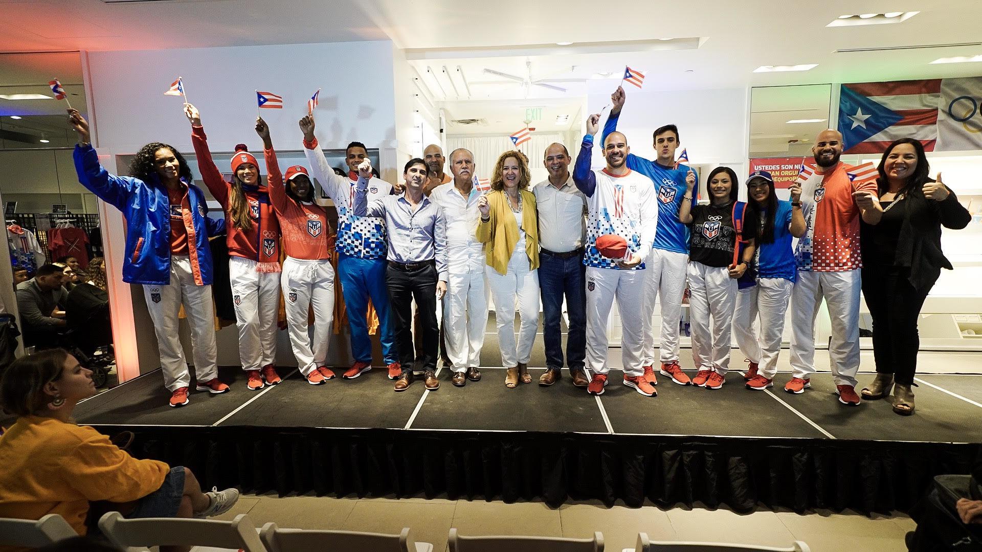 Delegación de Puerto Rico presenta su vestimenta para los Juegos Panamericanos