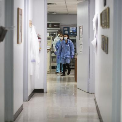 En 344 las hospitalizaciones por Covid-19