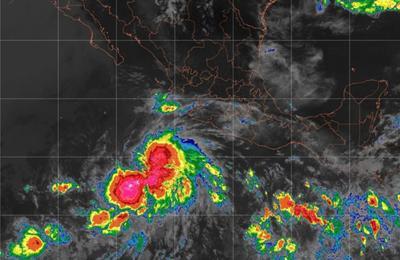 Se forma primera tormenta tropical en el Pacífico