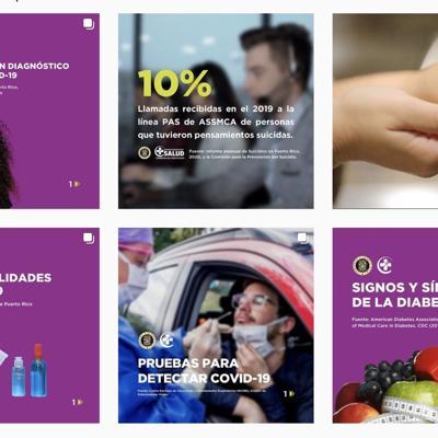 Salud lanza cuenta de Instagram sobre Covid-19