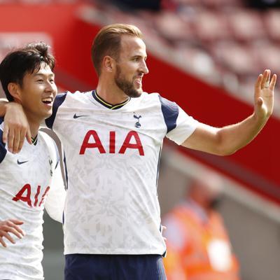 Son y Kane se desatan en goleada de Tottenham