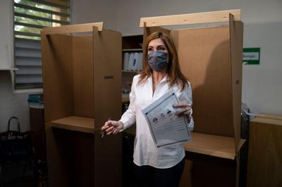 Zoraida Buxó no suelta prenda de los otros candidatos que endosa
