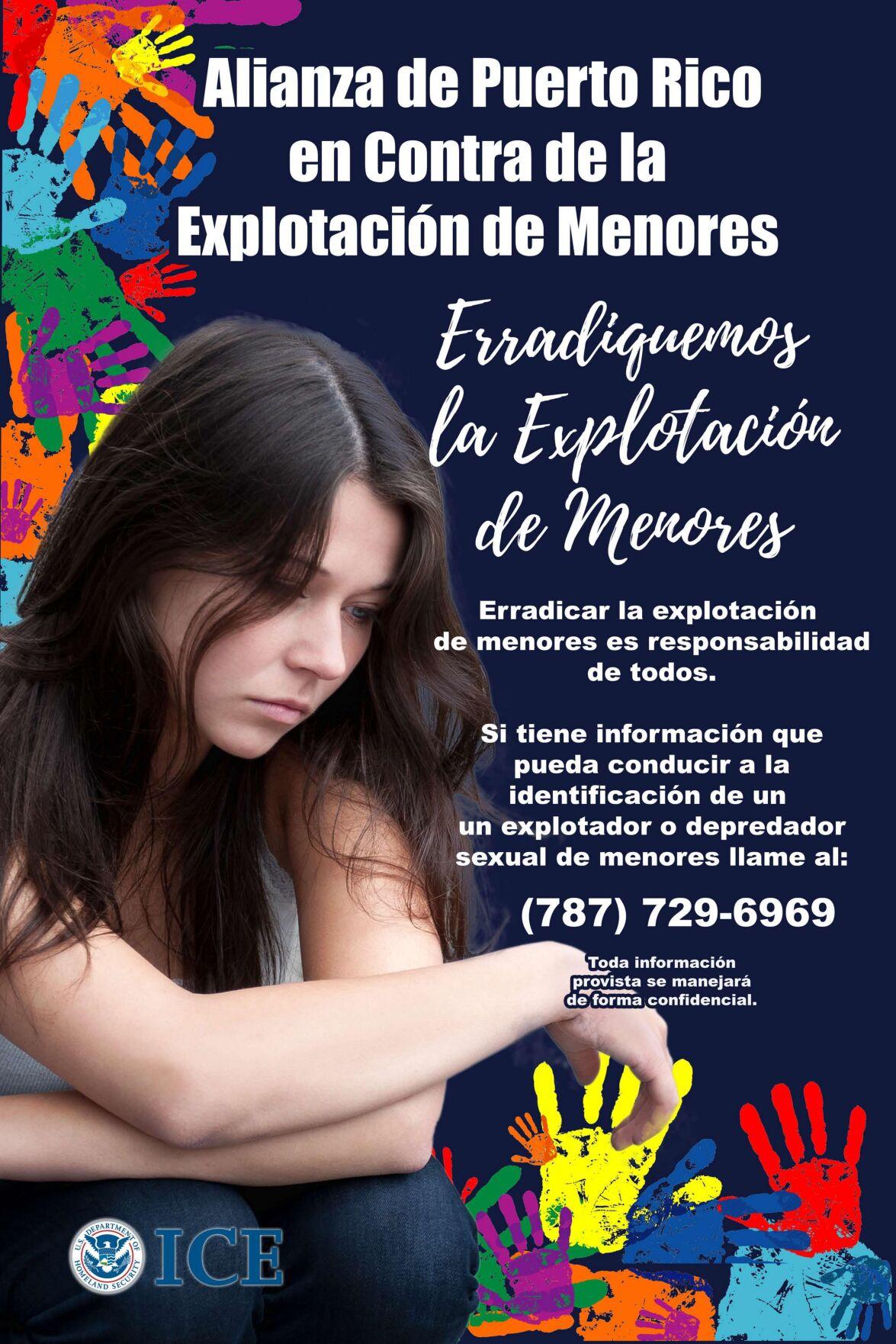 Crean Alianza de Puerto Rico Contra la Explotación Sexual de Menores
