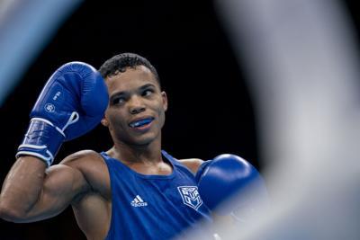 Yankiel Rivera se queda con la de bronce en boxeo