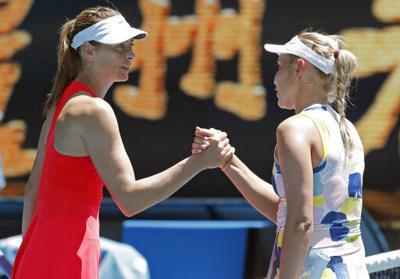 Vekic elimina a Sharapova en Australia