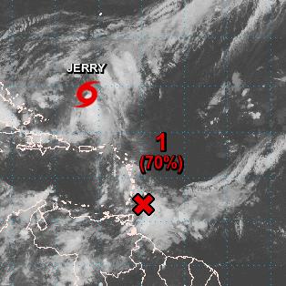 Encuentran vientos de tormenta tropical en depresión tropical