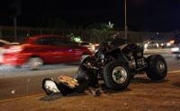 Joven pierde la vida tras accidente en four track en San Lorenzo