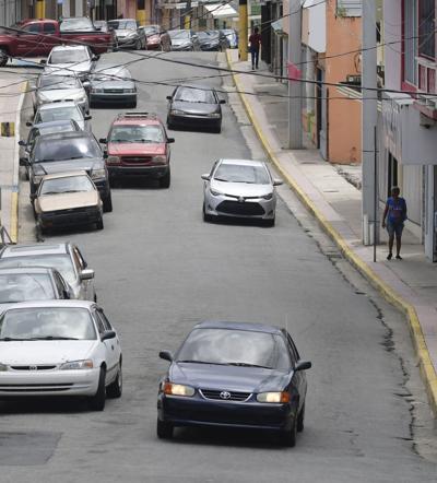 Denuncian mal estado de vía en Humacao