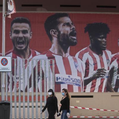 El Atlético registra dos positivos al coronavirus