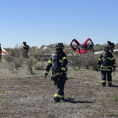 VÍDEO: Dos avionetas chocan en el aire en Colorado