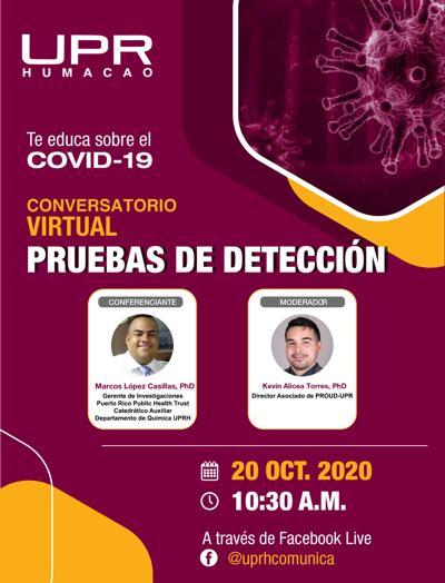 UPRH ofrecerá conversatorios para educar sobre el Covid-19