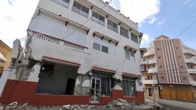 Varios edificios de Ponce sufren daños tras temblor de anoche