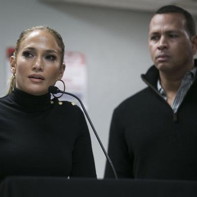 El romance de J.Lo y Alex Rodríguez