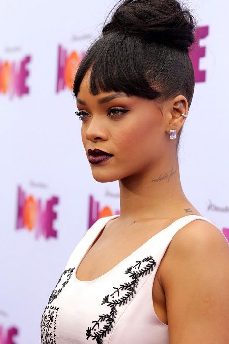 Rihanna es grabada en un 'strip club'