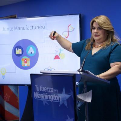 Jenniffer González devela parte de su agenda para el desarrollo económico
