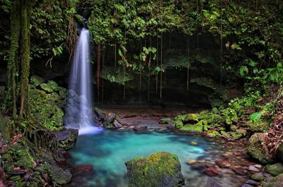 Piscina Natural Esmeraldal, Dominica