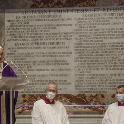 El papa pide encontrar lo bueno, incluso de la pandemia