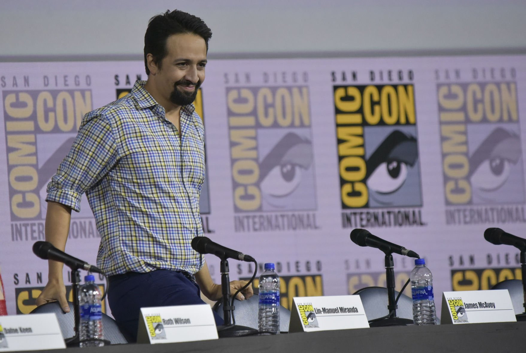Lin-Manuel revela detalles de su serie con HBO