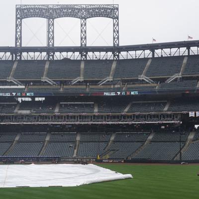 Mal tiempo provoca tercera postergación de Mets en cinco días