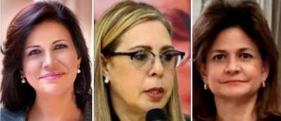 Tres mujeres buscan la vicepresidencia de la República Dominicana