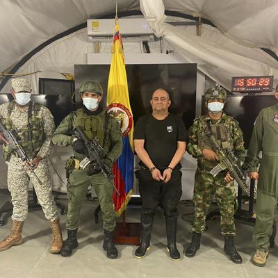Colombia captura al líder del Clan del Golfo, el narcotraficante más buscado del país